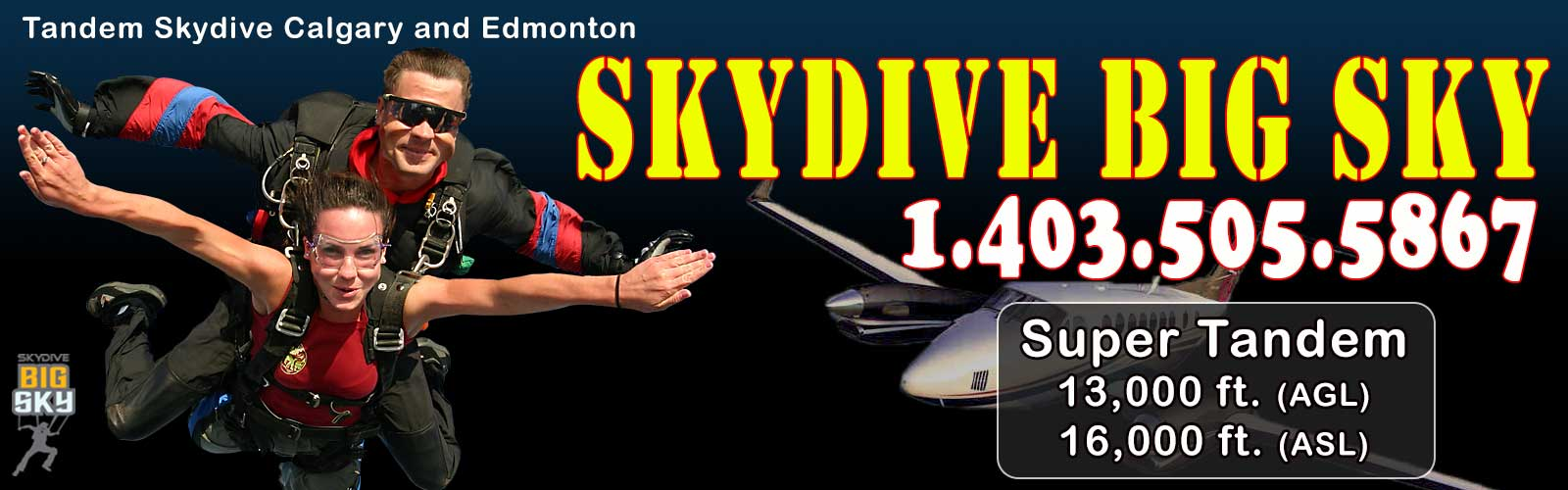 skydive calgary pricing